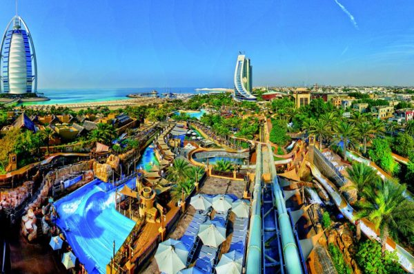 Wild Wadi Water Park including interesting activities and fun