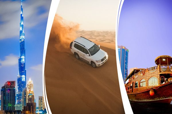 All the different activities in Dubai