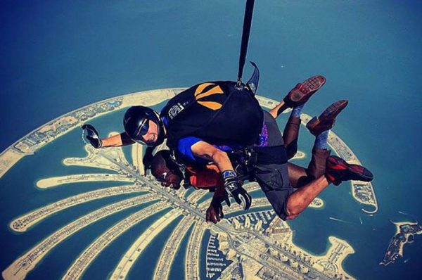 ADVENTUROUS PLACES IN DUBAI