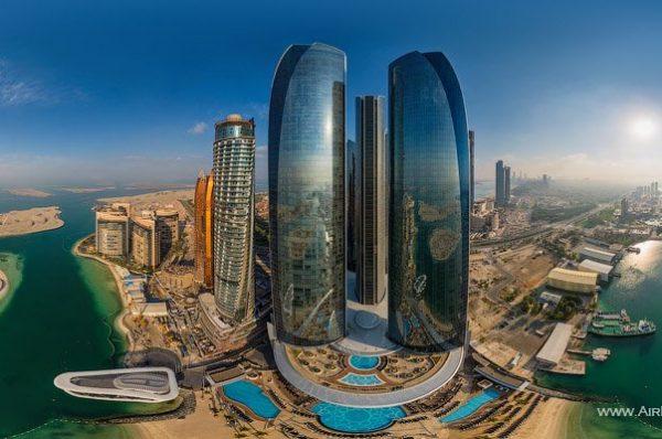 Admiring the Beauty during Abu Dhabi City Tour