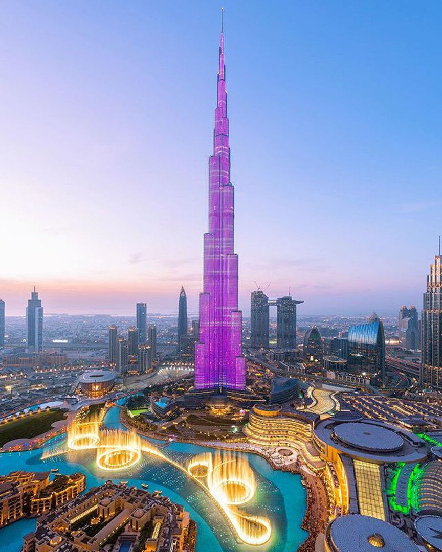 SENSATIONAL PLACES OF DUBAI