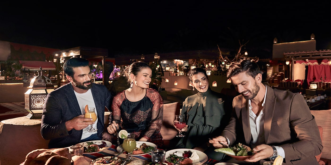 Bab Al Shams Desert Resort Dinner 5 Star