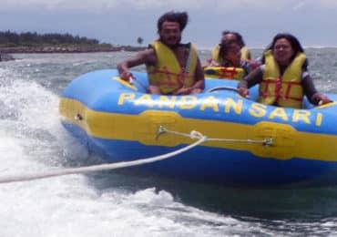 Donut Boat Ride