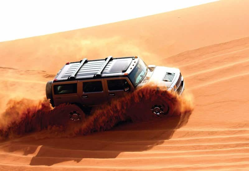 Hummer Desert Safari Tour in Dubai