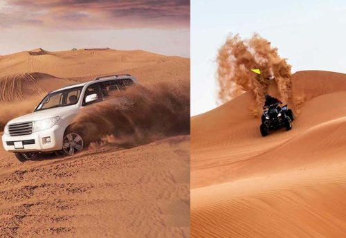 Desert safari + Quad bike