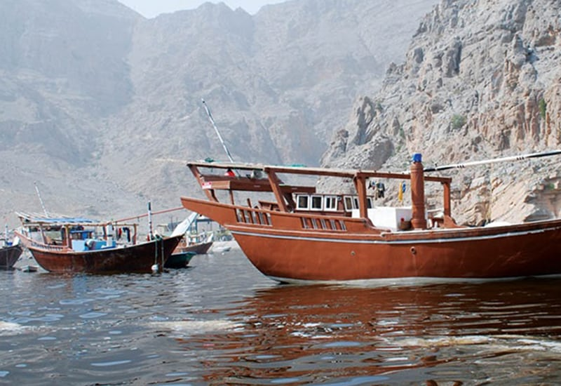 Khasab Full Day Dhow Cruise and Overnight at Hotel