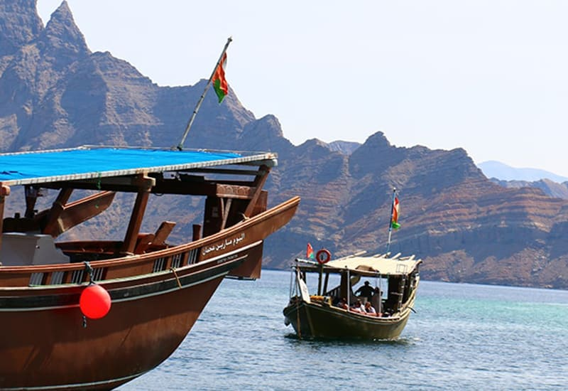 Khasab Full Day Dhow Cruise To Khor Sham With Lunch