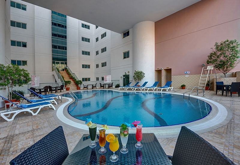 Lotus Downtown Metro Hotel Deira 4 Star Deluxe Hotel Apartments